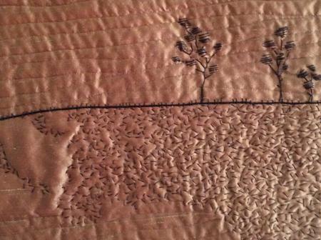Sunburnt textures whole cloth blog