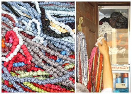 silk buttons Egypt 2007