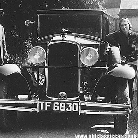 vintage car - strip lighting 2 blog