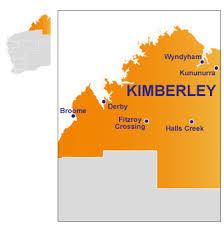 The Kimberley map
